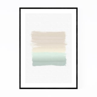 Noir Gallery Pastel Abstract Modern Painting Framed Art Print