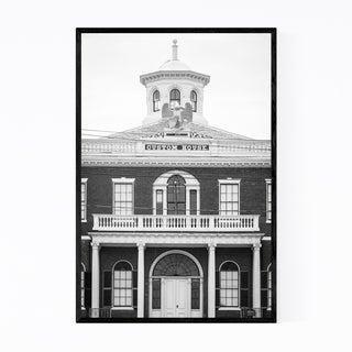 Noir Gallery Black White Salem Massachusetts Framed Art Print