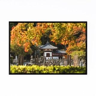 Noir Gallery Kyoto Japan Buddhist Temple Framed Art Print
