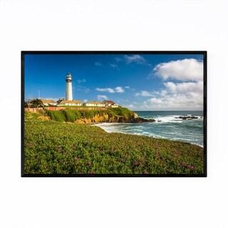 Noir Gallery California Coastal Lighthouse Framed Art Print