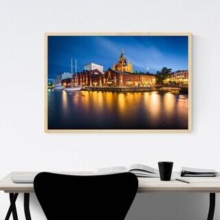 Noir Gallery Helsinki Finland Cathedral Framed Art Print