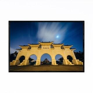 Noir Gallery Taipei Freedom Square Arch Framed Art Print