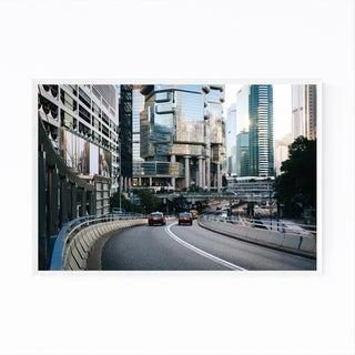 Noir Gallery Hong Kong Urban Cityscape Framed Art Print