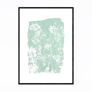 Noir Gallery Green Nature Botanical Leaves Framed Art Print