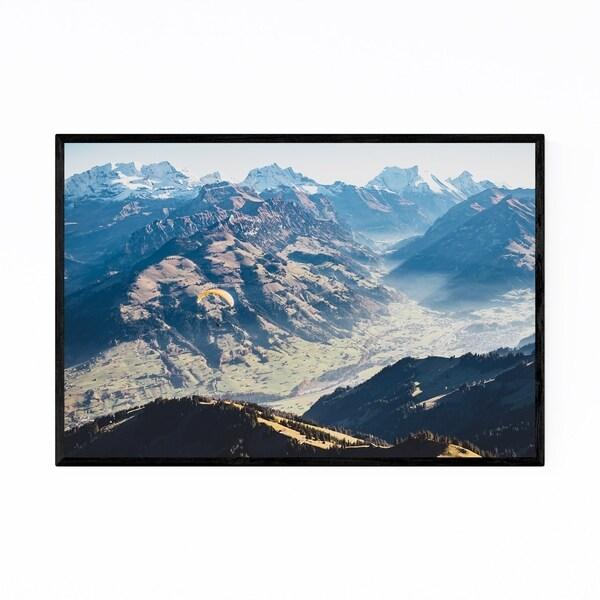 Noir Gallery Niesen Mountain Bern Switzerland Framed Art Print