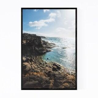 Noir Gallery Lanzarote Canary Islands Coastal Framed Art Print