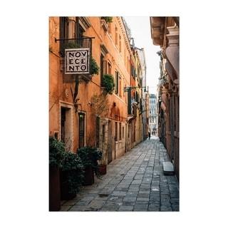 Noir Gallery Venice Italy Colorful Street Unframed Art Print/Poster