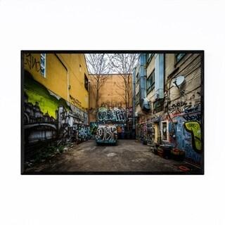 Noir Gallery Baltimore Graffiti Alley Photo Framed Art Print