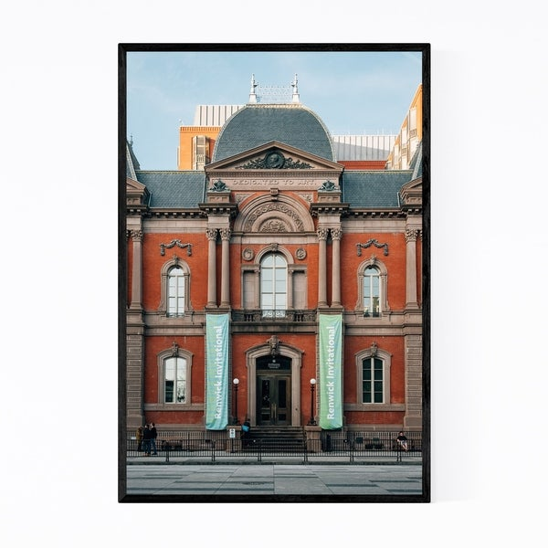 Noir Gallery Renwick Gallery Washington DC Framed Art Print