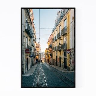 Noir Gallery Bairro Alto Lisbon Portugal Framed Art Print