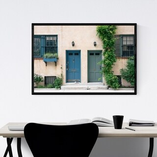 Noir Gallery Greenwich Village New York City Framed Art Print