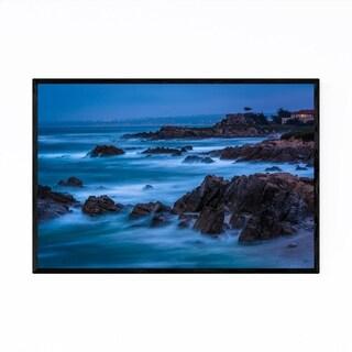 Noir Gallery Pacific Grove Coast California Framed Art Print