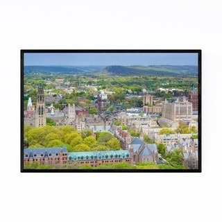 Noir Gallery Yale University New Haven CT Framed Art Print