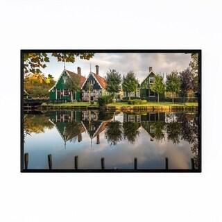 Noir Gallery Zaanse Schans Netherlands Framed Art Print