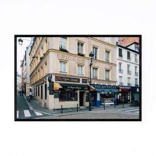 Noir Gallery Latin Quarter Paris France City Framed Art Print