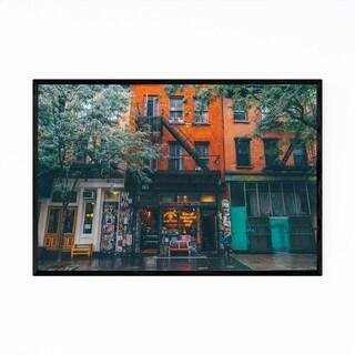 Noir Gallery Manhattan New York City Street Framed Art Print