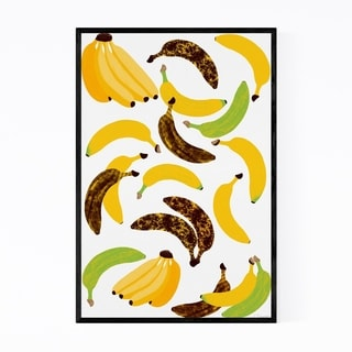 Noir Gallery Fruit Banana Tropical Kitchen Framed Art Print