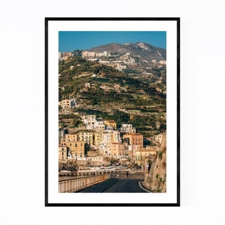 Noir Gallery Minori Amalfi Coast Italy Photo Framed Art Print