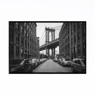 Noir Gallery Manhattan Bridge DUMBO New York Framed Art Print