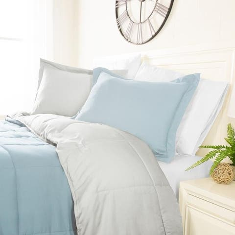 Classic Reversible Comforter Collection by Sharon Osbourne Home