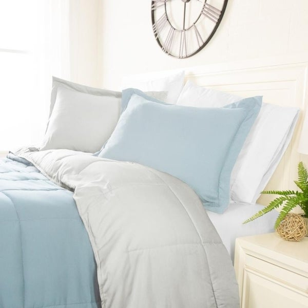 Classic Reversible Comforter Collection by Sharon Osbourne Home. Opens flyout.