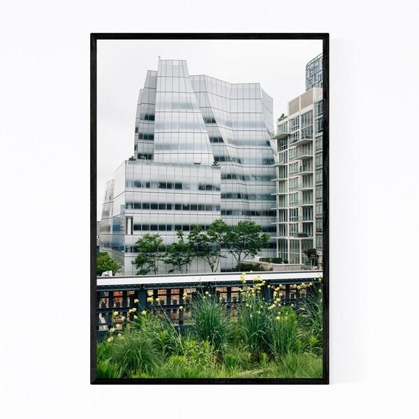 Noir Gallery Chelsea NYC Modern Architecture Framed Art Print