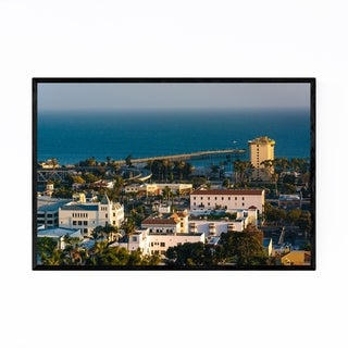 Noir Gallery Ventura California Coastal View Framed Art Print