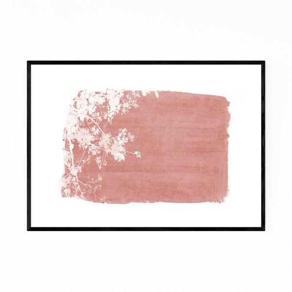 Noir Gallery Red Nature Botanical Tree Leaves Framed Art Print