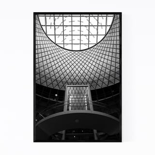 Noir Gallery Manhattan New York Architecture Framed Art Print