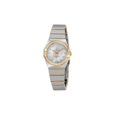 Omega Women's 123.25.24.60.55.005 'Constellation' Diamond Two-Tone Stainless Steel Watch