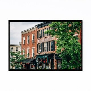Noir Gallery Williamsburg Brooklyn New York Framed Art Print