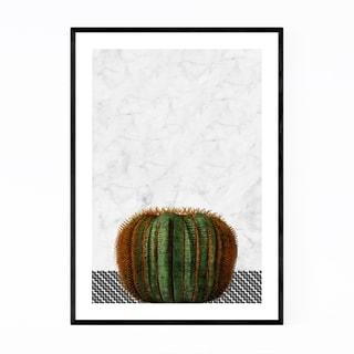 Noir Gallery Cactus Plant Botanical Framed Art Print