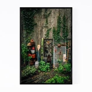 Noir Gallery East Village NYC Garden Park Framed Art Print