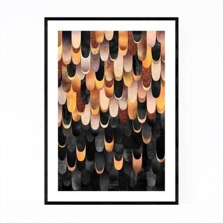 Noir Gallery Art Deco Digital Art Abstract Framed Art Print