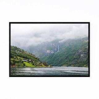 Noir Gallery Geirangerfjord Norway Landscape Framed Art Print