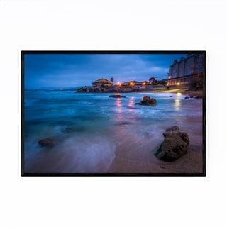 Noir Gallery Monterey California Beach Framed Art Print