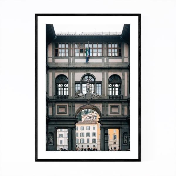 Noir Gallery Florence Italy Architecture Framed Art Print