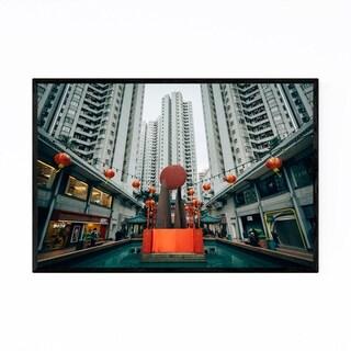 Noir Gallery Hong Kong Aberdeen Center Framed Art Print