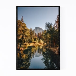 Noir Gallery Half Dome Yosemite California  Framed Art Print