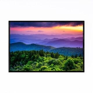 Noir Gallery Blue Ridge Mountains Nature Framed Art Print