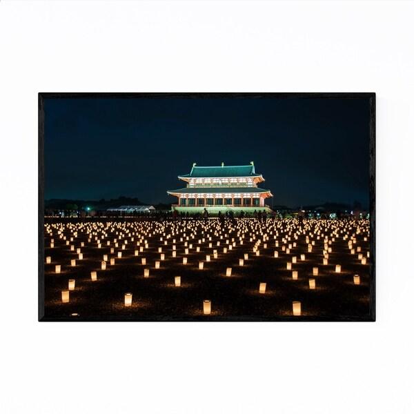 Noir Gallery Heijo Palace Remains Nara Japan Framed Art Print