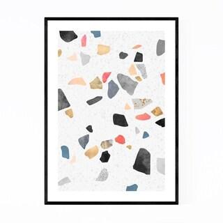 Noir Gallery Abstract Digital Pattern  Framed Art Print