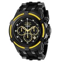 Invicta Men's 22451 'Bolt' Black Silicone Watch