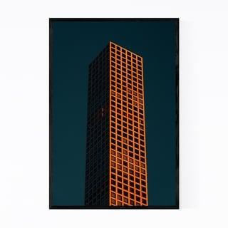 Noir Gallery Modern Architecture Midtown NYC Framed Art Print