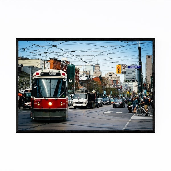 Noir Gallery Toronto Fashion District Framed Art Print