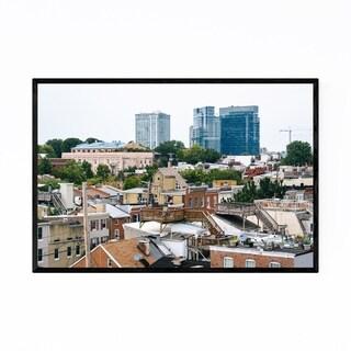 Noir Gallery Baltimore MD Skyline Cityscape Framed Art Print