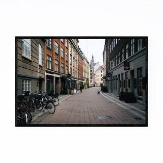 Noir Gallery Copenhagen Denmark Narrow Street Framed Art Print
