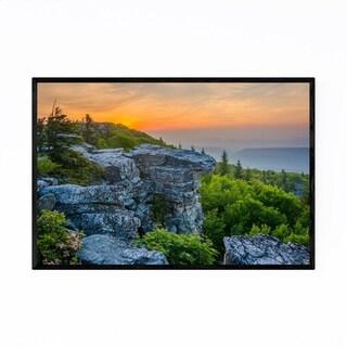 Noir Gallery West Virginia Mountain Landscape Framed Art Print