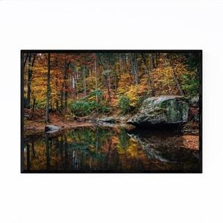 Noir Gallery Virginia Blue Ridge Autumn Fall Framed Art Print