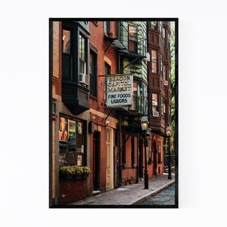 Noir Gallery Boston Beacon Hill Urban Framed Art Print